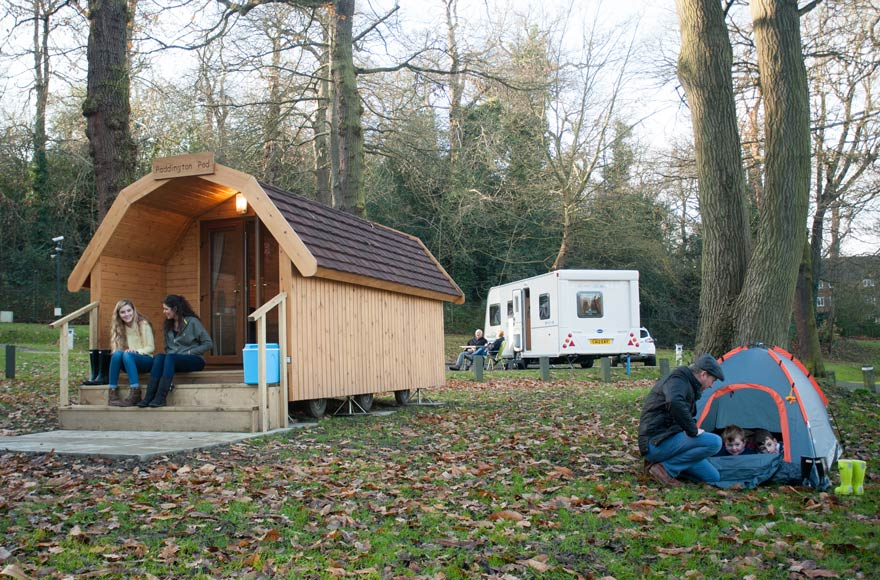 Experience Freedom Camping Pods