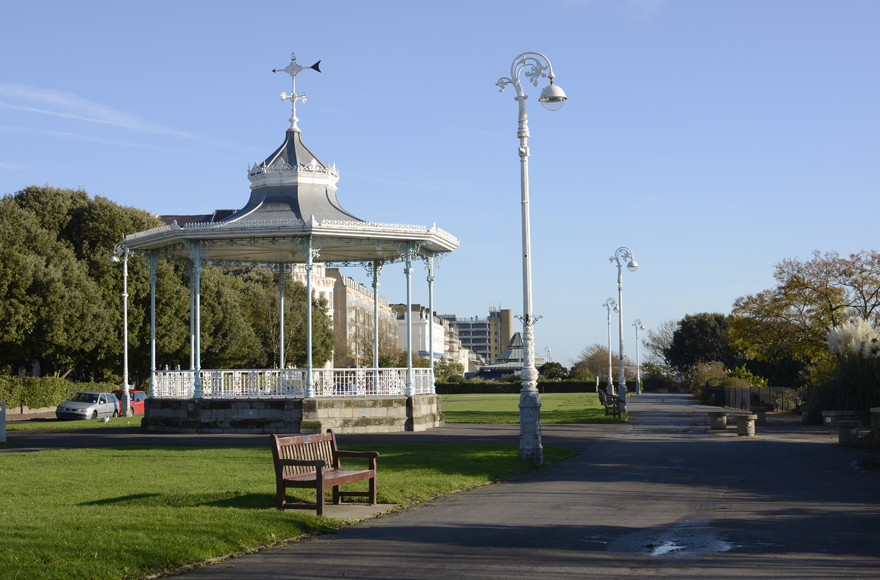 A band stand at The Leas in Folkstone
