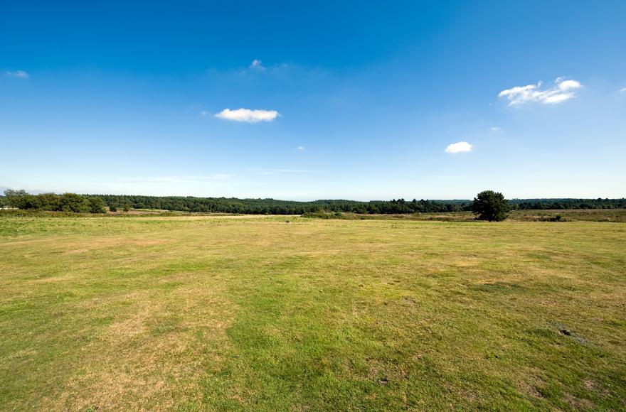 Stunning landscape at Exeter site