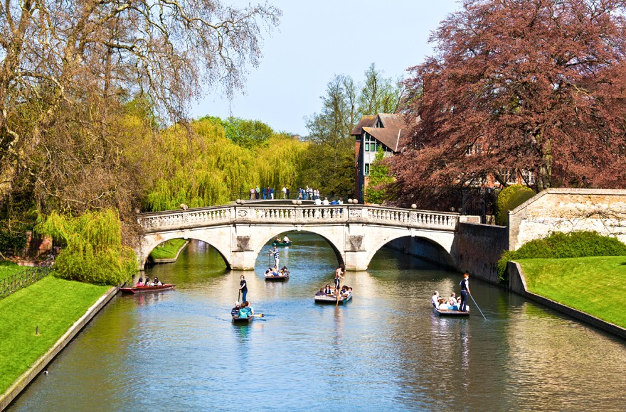 River Cam, Kings College