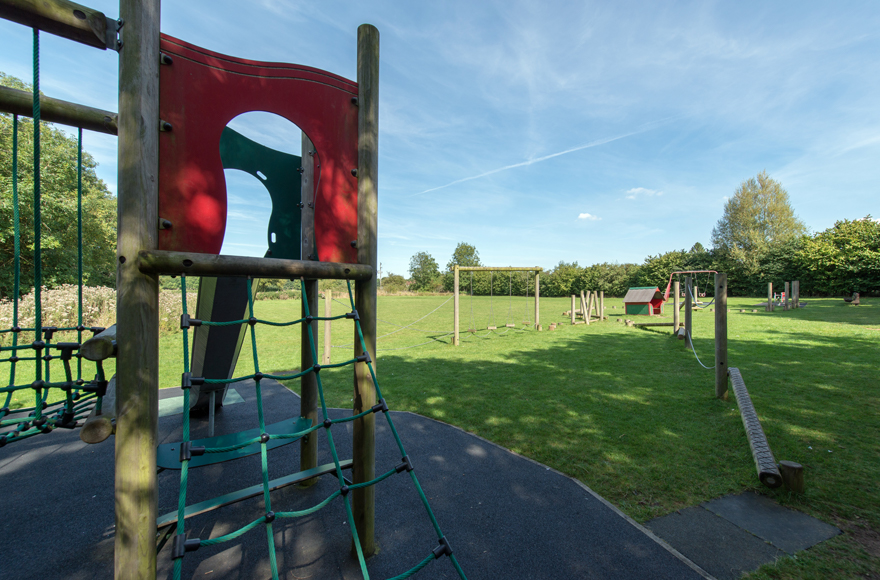 Playground at Burford site