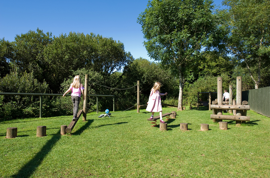 Playground at Freshwater East site