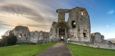 Ruins of Denbigh Castle