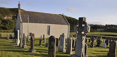 Parish Church of St Columba where Strathnaver Museum is based