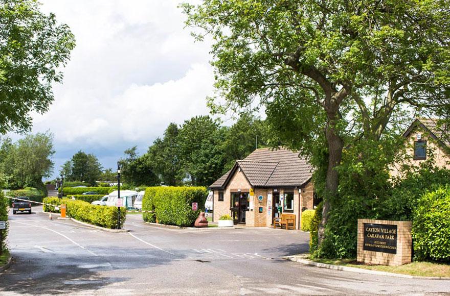 Cayton Village Caravan and Motorhome Club Site