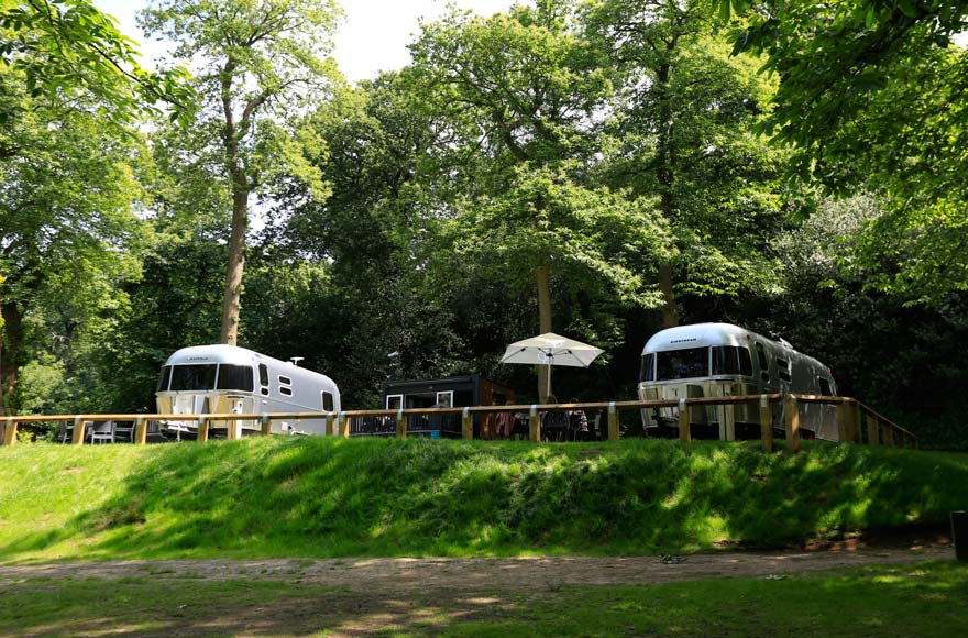 Chill out in a luxury Airstream caravan