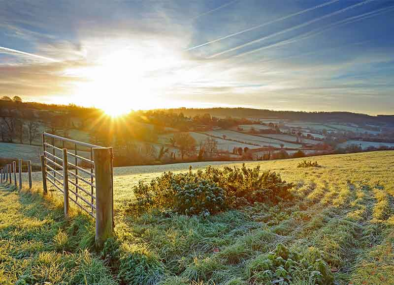 Incredibly picturesque winter walks all over the UK countryside
