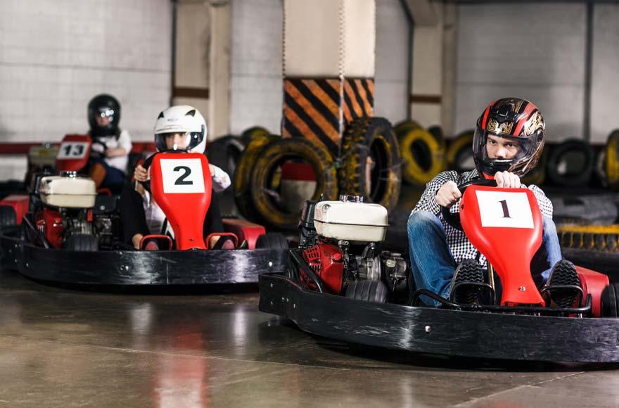 Enjoy go karting in Crawley