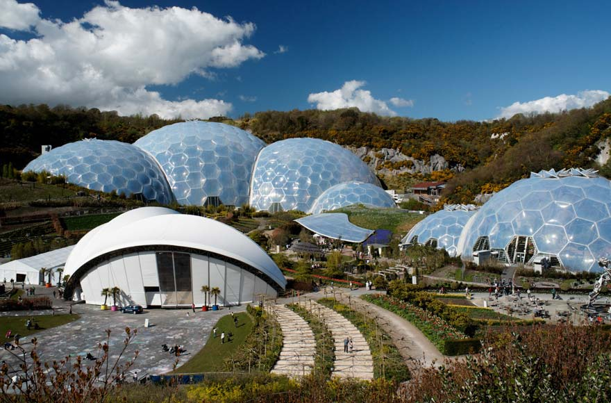 The whole family will enjoy The Eden Project, just over 30 minutes from site