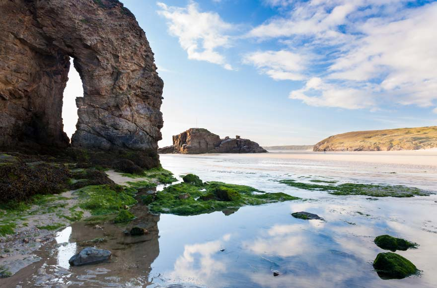 Visit Perranporth (Droskyn) for a weekend stroll