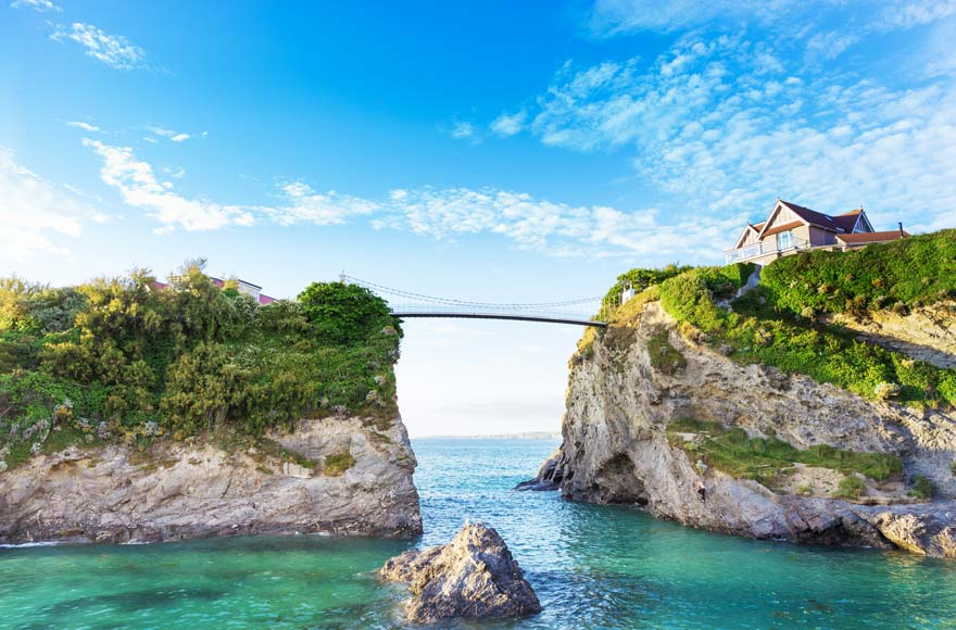 Visit Newquay, just over 10 minutes from site