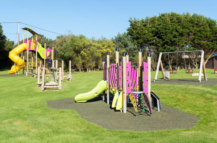 Kids will love the children's play area