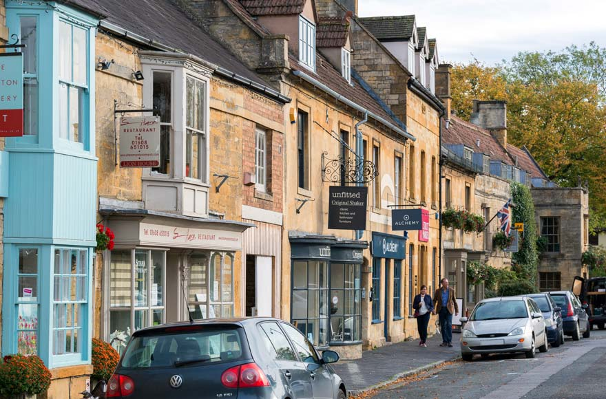 Visit the beautiful market town of Moreton-in-Marsh