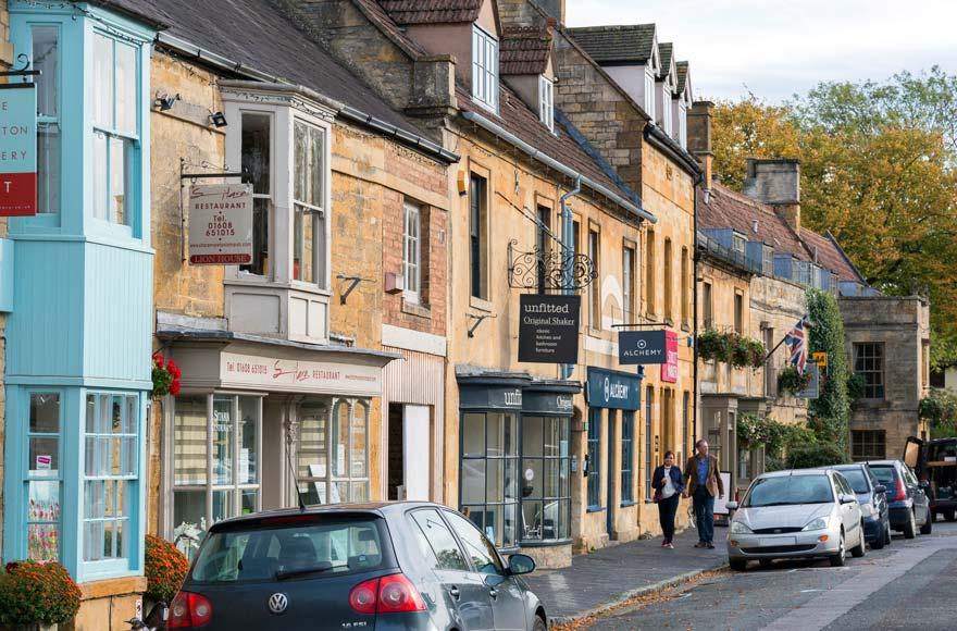 Visit the beautiful market town of Moreton-in-Marsh