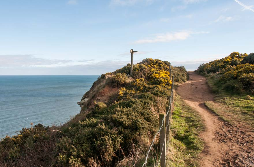 Take a coastal walk overlooking Robin Hood's Bay