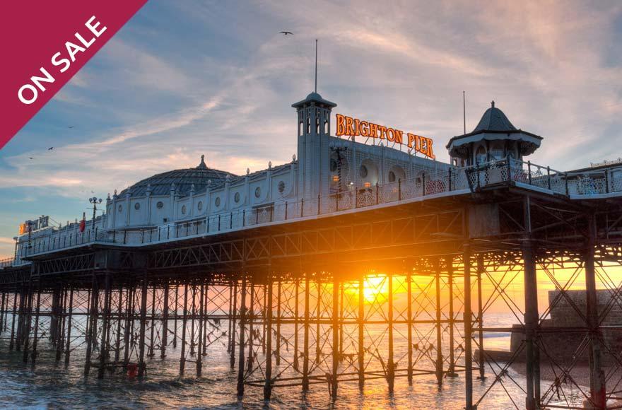 Visit the famous Brighton Palace Pier