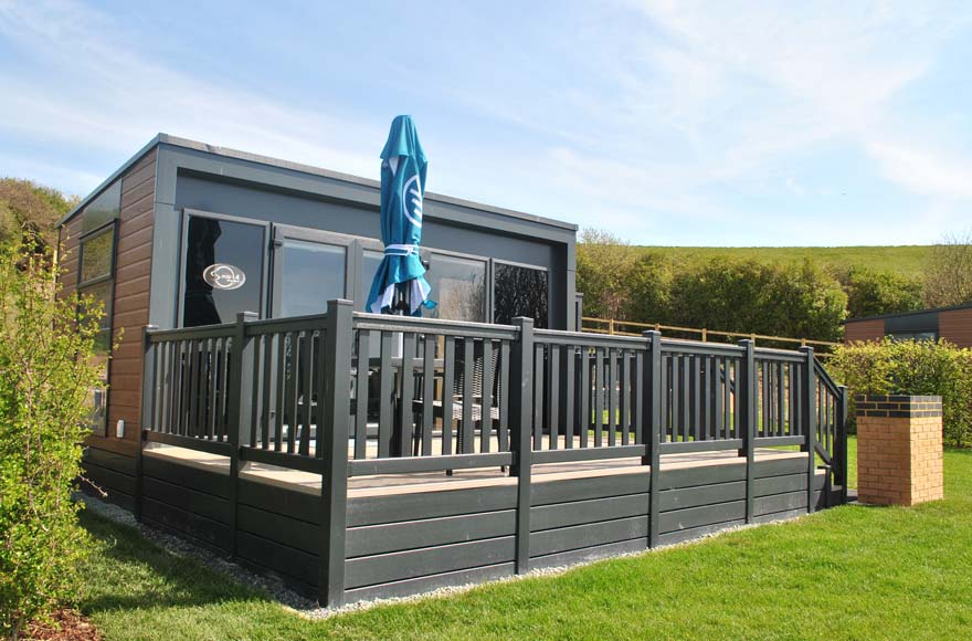 Enjoy stunning sea views from our site