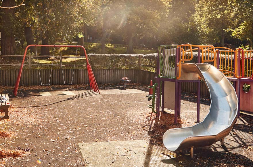 Let off steam in the playground on-site