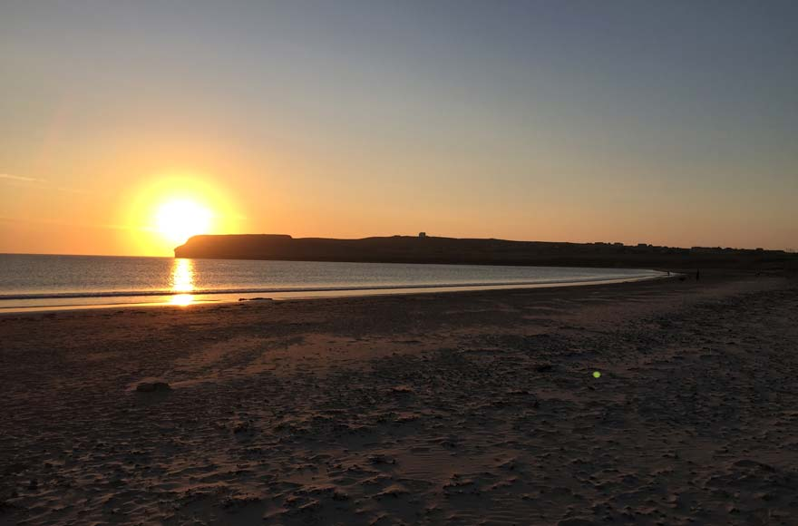 Sunset at Dunnet Bay