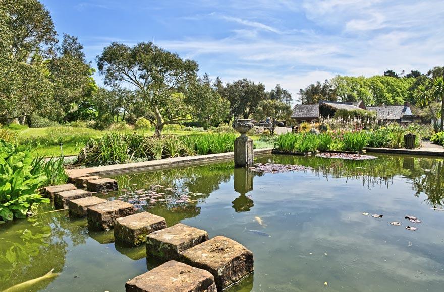 Visit the Logan Botanical Gardens