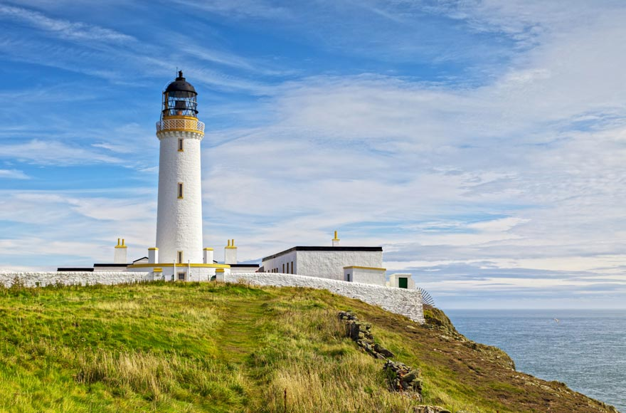 Visit the Mull of Galloway lighthouse - the southernmost point of Scotland