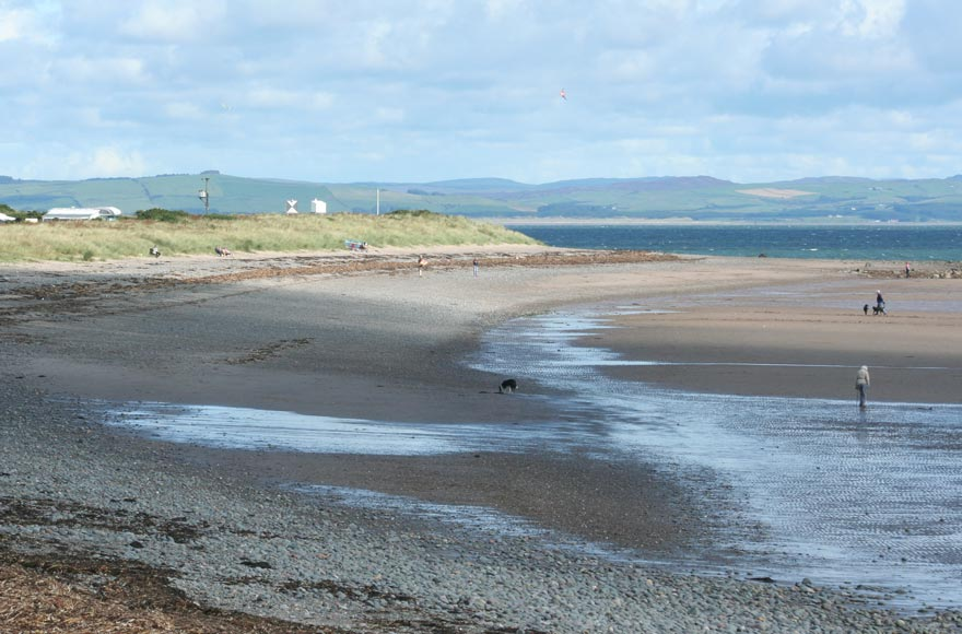 Enjoy the beach adjacent to site