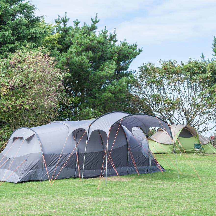 Large tent accommodation