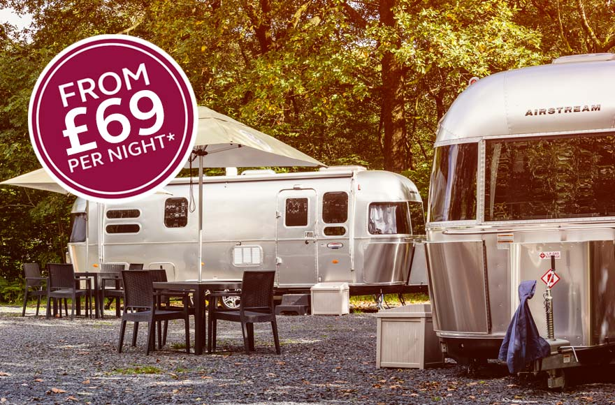 Airstreams from 69 pounds per night