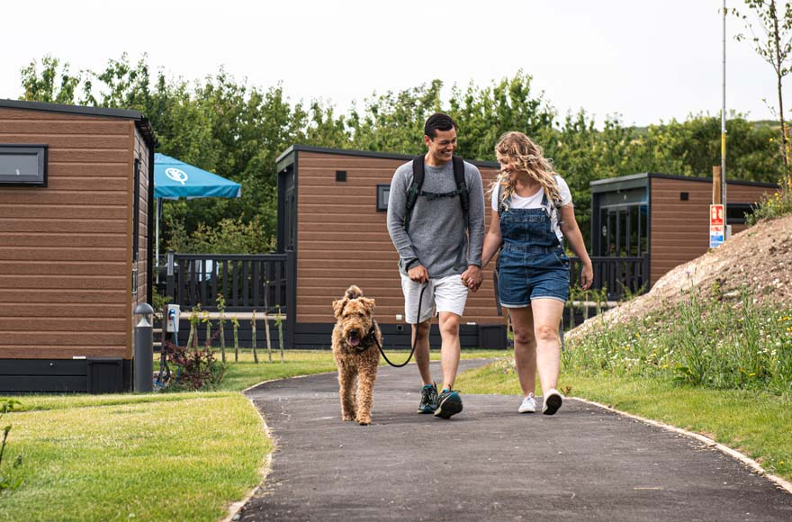 Selected pods are dog-friendly, so all the family can enjoy a glamping holiday!